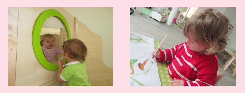 Spielgel und malen